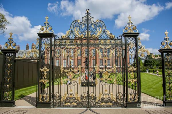 Golden Princess Photograph - The Palace Gates by Donald Davis