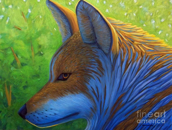 Coyote Painting - The Pathfinder by Brian  Commerford