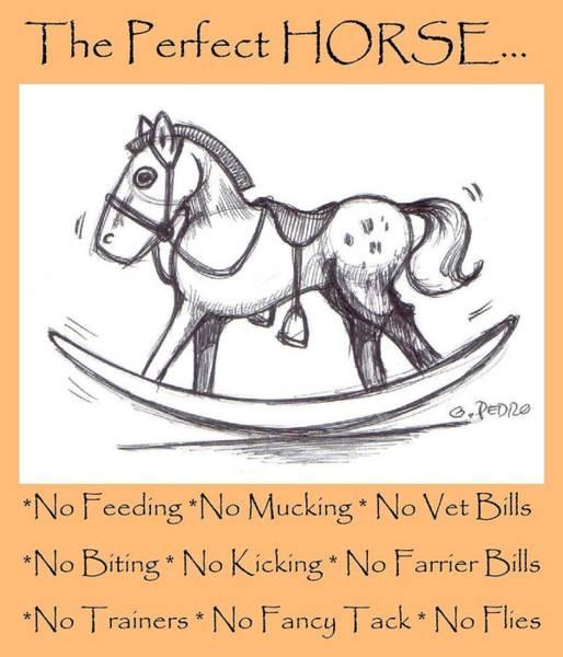 the Perfect Horse Art Print