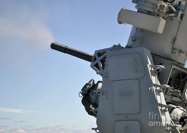 Photograph - The Phalanx Close-in Weapon System by Stocktrek Images