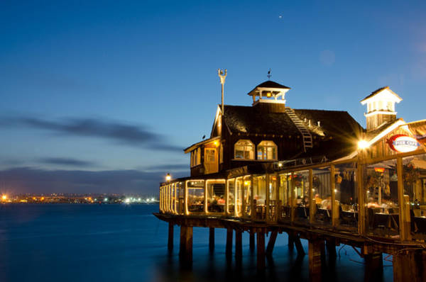 Photograph - The Pier Cafe by Margaret Pitcher