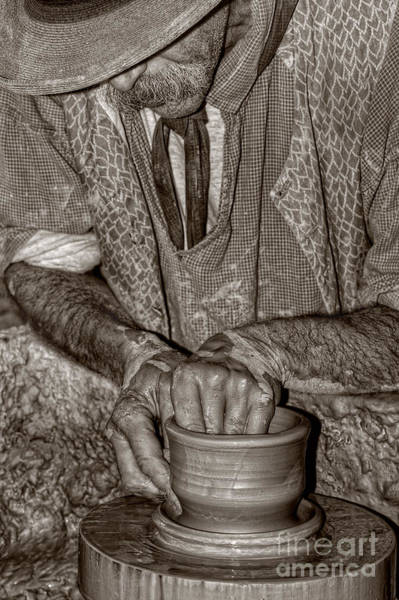 Photograph - The Potter by Joann Vitali