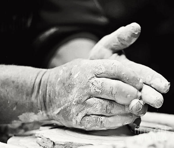 Photograph - The Potter's Hands by Pam  Holdsworth
