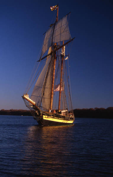Sailing Terms Photograph - The Pride II Of Baltimore by Skip Willits