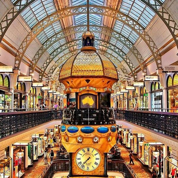 The Queen Victoria Building (or Qvb) Art Print