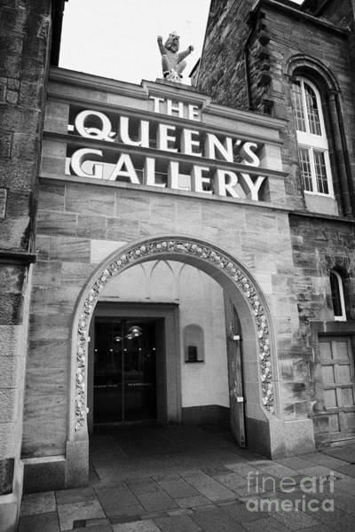 Holyrood Photograph - The Queens Gallery Palace Of Holyroodhouse Edinburgh by Joe Fox
