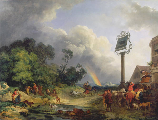 1812 Photograph - The Rainbow by Philip James de Loutherbourg