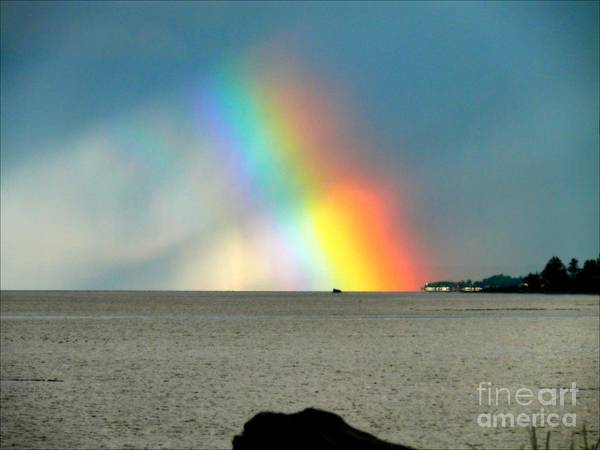 Vancouver Mixed Media - The Rainbow's Edge by Gail Bridger