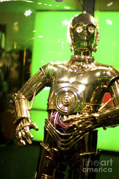 C3po Photograph - The Real C3p-o by Micah May