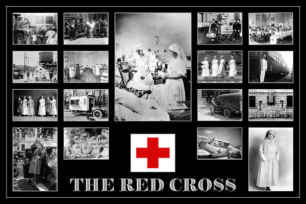 Photograph - The Red Cross by Andrew Fare