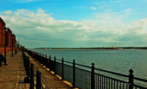 Photograph - The River Mersey by Edward Peterson