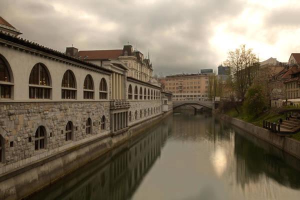 Ljubljana Wall Art - Photograph - The River Of Love by Ian Middleton