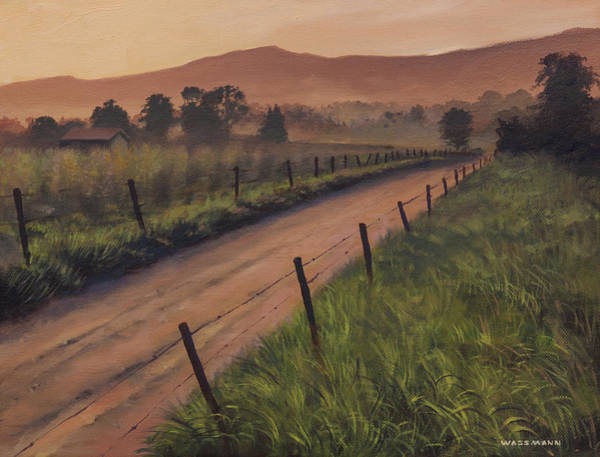 Painting - The Road Home by Cliff Wassmann