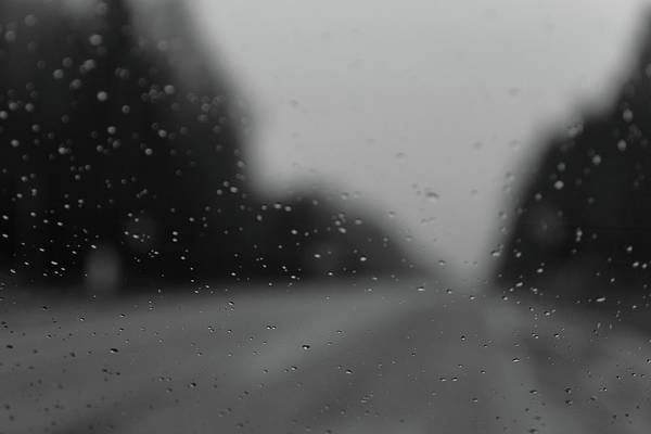 Photograph - The Road In Rainy Day by Michael Goyberg