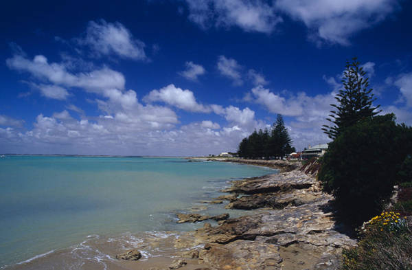 Foreshore Photograph - The Rocky Foreshore And Picturesque Bay by Jason Edwards