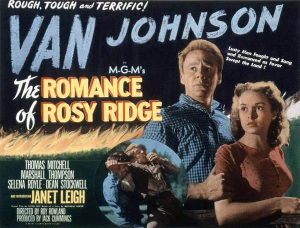 Van Johnson Photograph - The Romance Of Rosy Ridge, Van Johnson by Everett