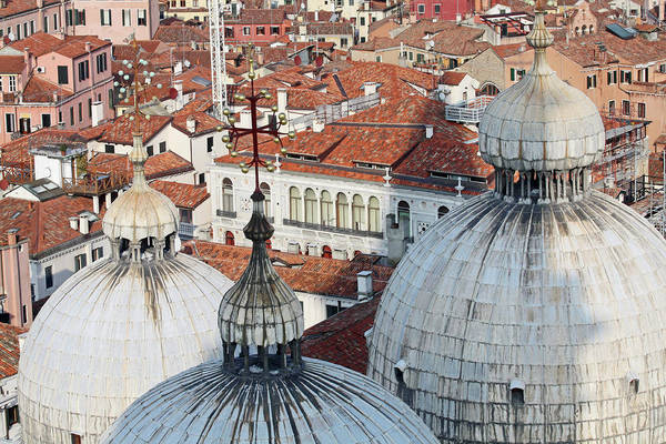 Wall Art - Photograph - The Rooftops Of Venice by Pam Blackstone