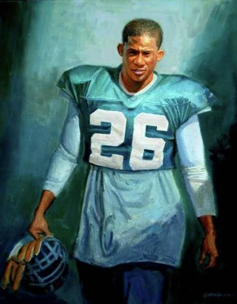 Painting - The Rookie by Mel Greifinger