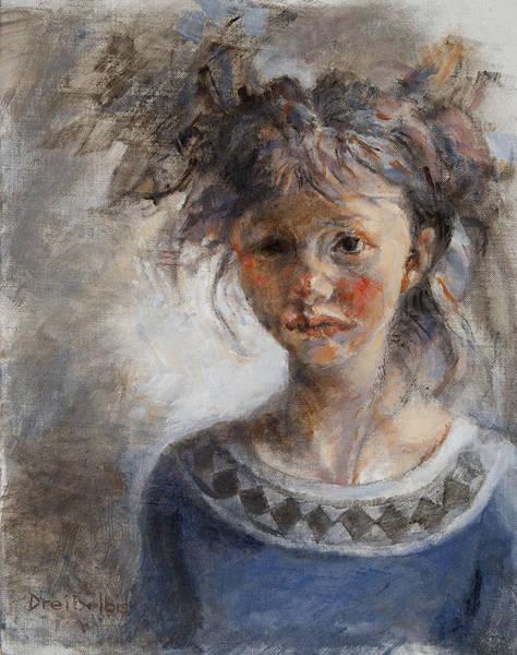 Painting - The Russian Girl by Ellen Dreibelbis
