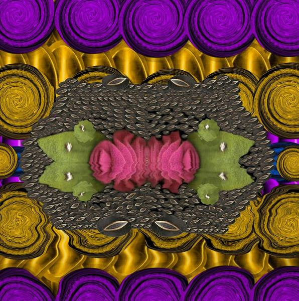 Lotus Mixed Media - The Sacred Pond Pop Art by Pepita Selles