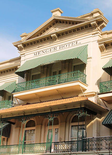 Photograph - The San Antonio Menger Hotel by Sarah Broadmeadow-Thomas
