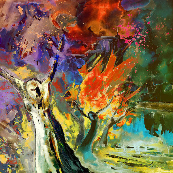 Painting - The Scream 02 by Miki De Goodaboom