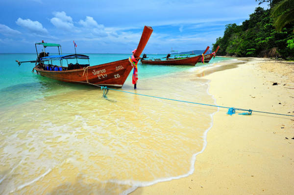 Phi Photograph - The Sea On Every Side by Bernard Chen