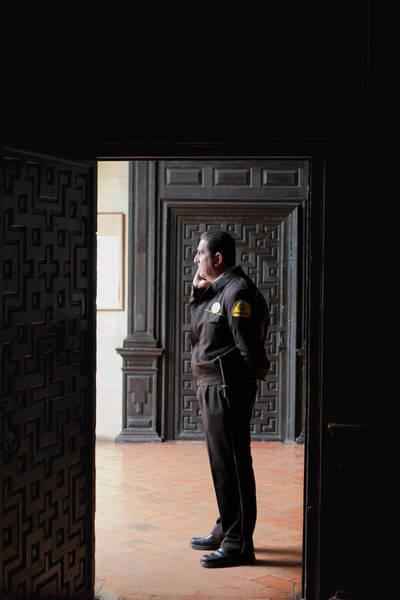 Photograph - The Security Guard by Lorraine Devon Wilke