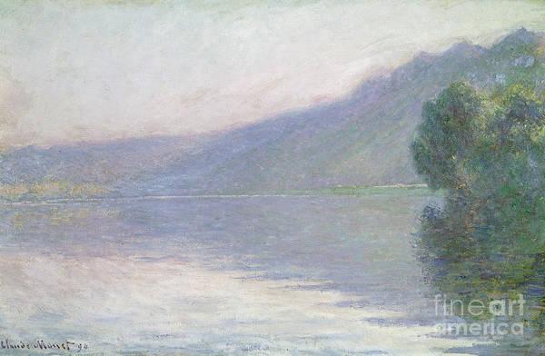 River Seine Painting - The Seine At Port Villez by Claude Monet