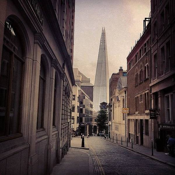Skyscraper Photograph - The Shard by Samuel Gunnell