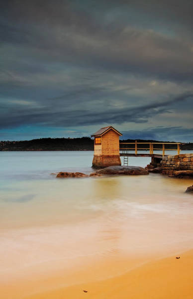 Photograph - The Shed - Camp Cove  by Mark Lucey