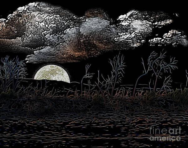 Digital Art - The Sky Is Low by Rhonda Strickland