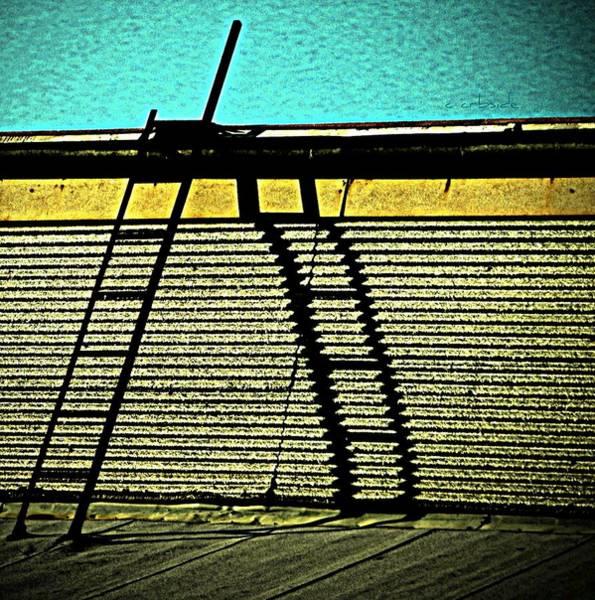 Rungs Wall Art - Photograph - The Sky Is The Limit by Chris Berry