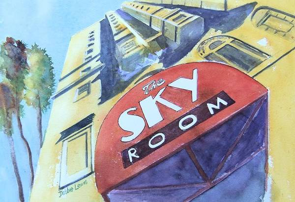 Painting - The Sky Room by Debbie Lewis
