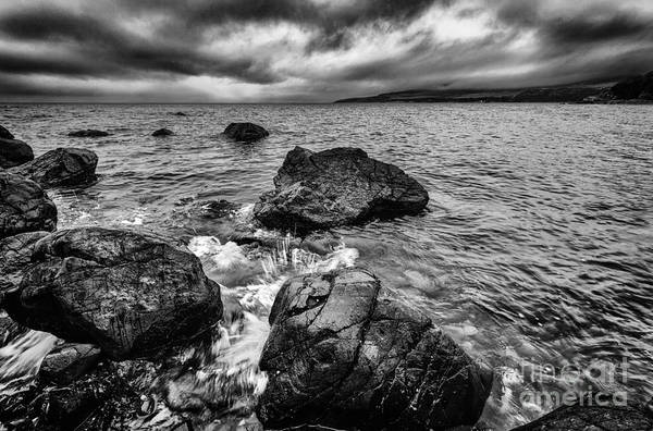 Ayrshire Photograph - The Sound Of The Waves by John Farnan