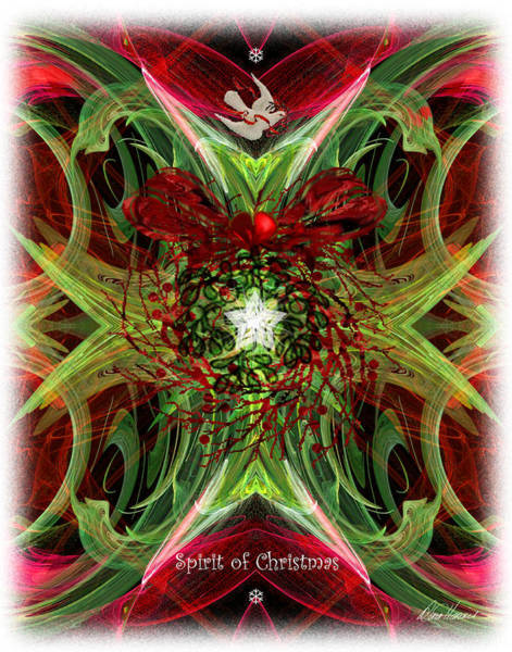 Digital Art - The Spirit Of Christmas by Diana Haronis