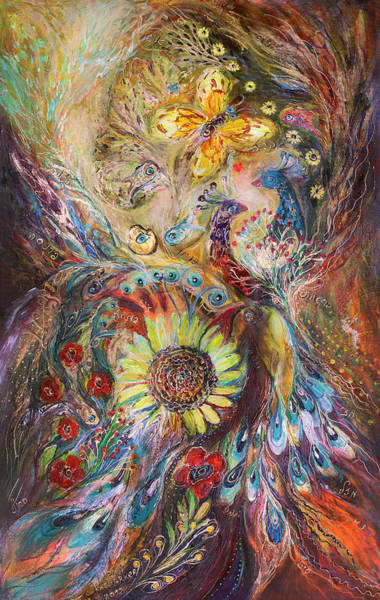 Priestly Blessing Painting - The Spirit Of Flowers by Elena Kotliarker