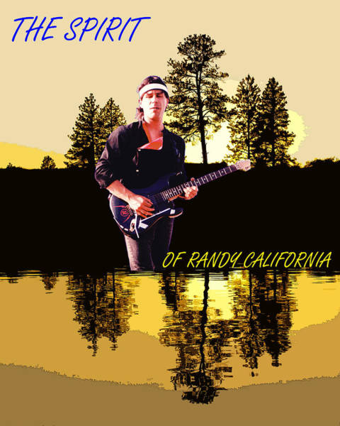 Photograph - The Spirit Of Randy California by Ben Upham