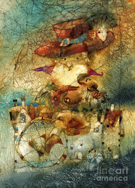 Wall Art - Mixed Media - The Spirit Of The Forest by Svetlana and Sabir Gadghievs