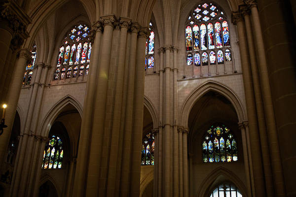 Photograph - The Stained Glass Sparkled by Lorraine Devon Wilke
