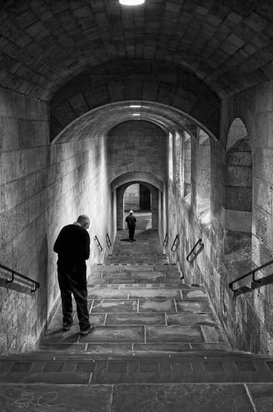 Photograph - The Stairs by S Paul Sahm