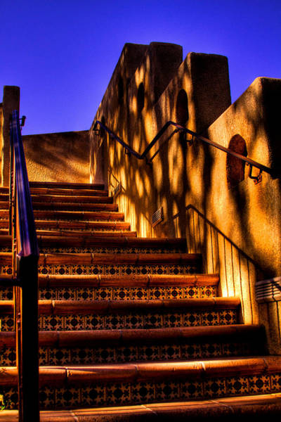 Photograph - The Stairway At Tlaquepaque by David Patterson