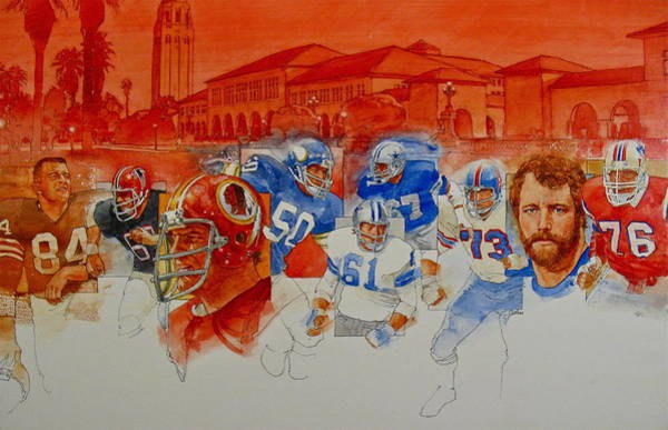 Painting - The Stanford Legacy  2 Of 3 by Cliff Spohn
