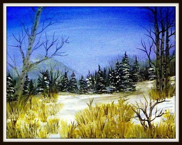 Benny Painting - The Start Of Winter by Benny Lawrence