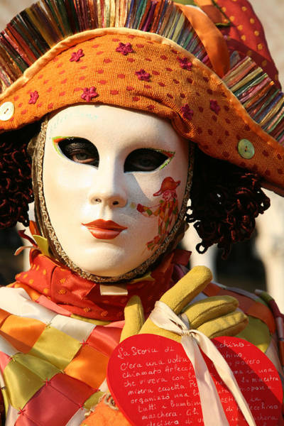 Photograph - The Story Of Arlecchino Portrait by Donna Corless