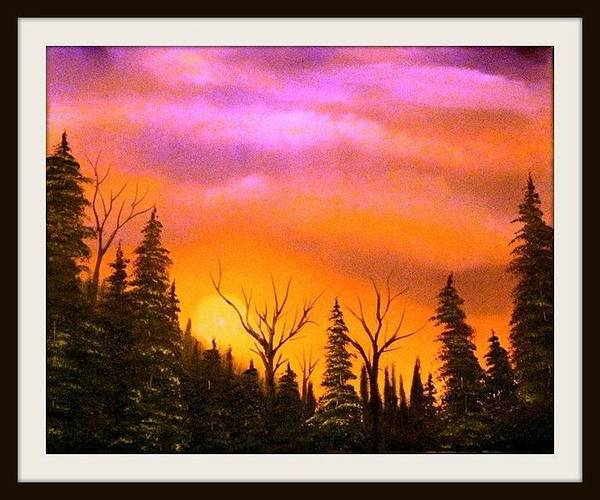Benny Painting - The Sunset by Benny Lawrence