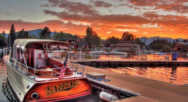 South Lake Tahoe Photograph - The Tahoe by Brad Scott