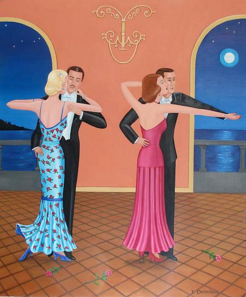The Tango Art Print
