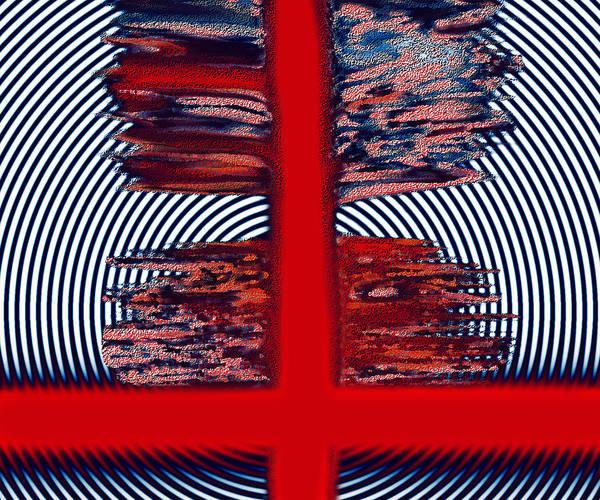 Art Print featuring the digital art The Target by Mihaela Stancu