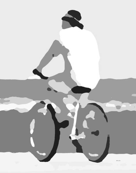 Wall Art - Digital Art - The Thought Of Biking by Betsy Knapp